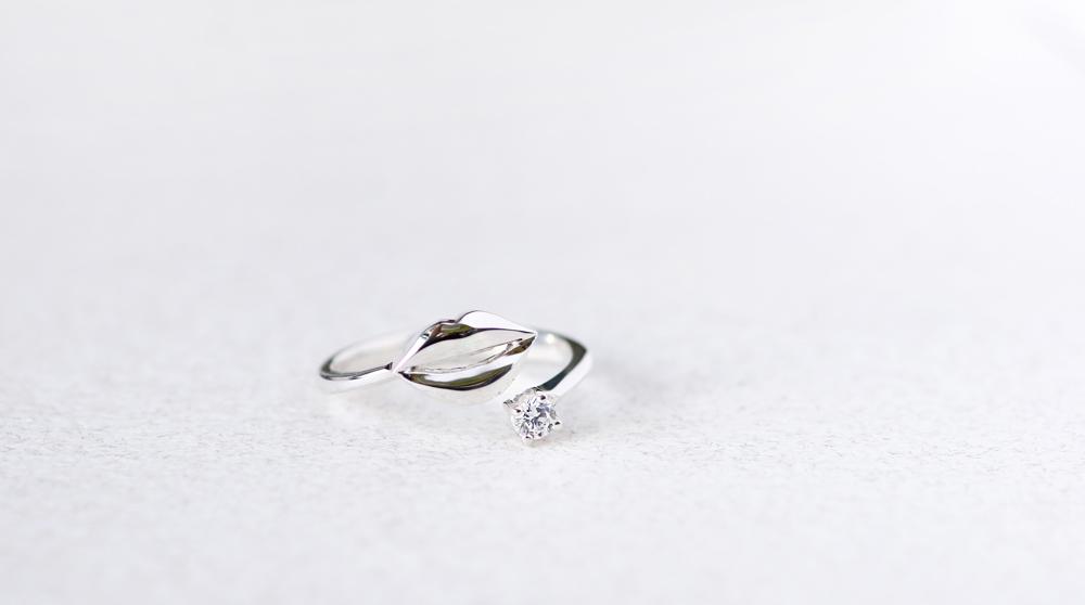 リップ リング 指輪 シルバー925