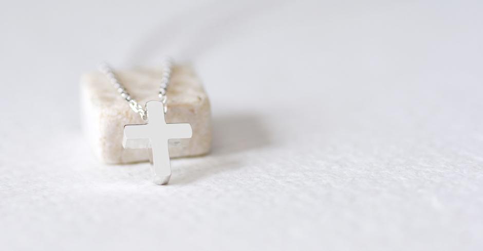 mini 十字架 ネックレス シルバー925
