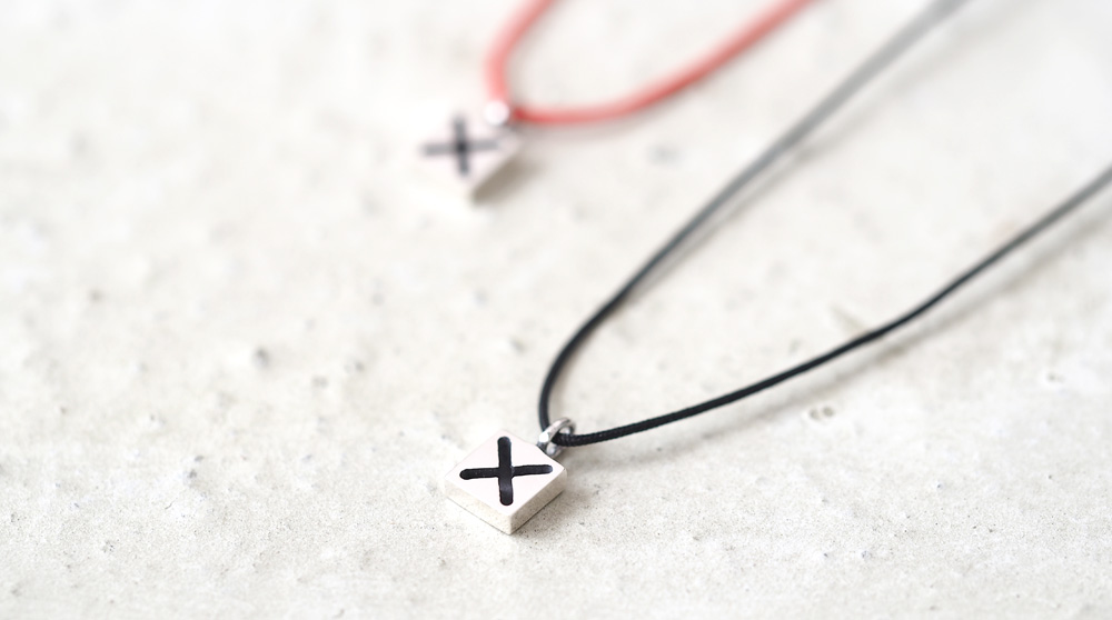 String × かける ネックレス シルバー925