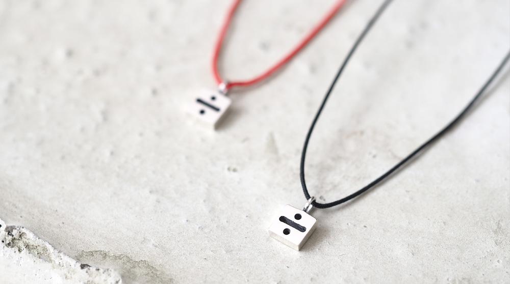 String ÷ わる ネックレス シルバー925