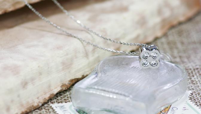 cloud-jewelry clover pendant クローバーペンダント_02