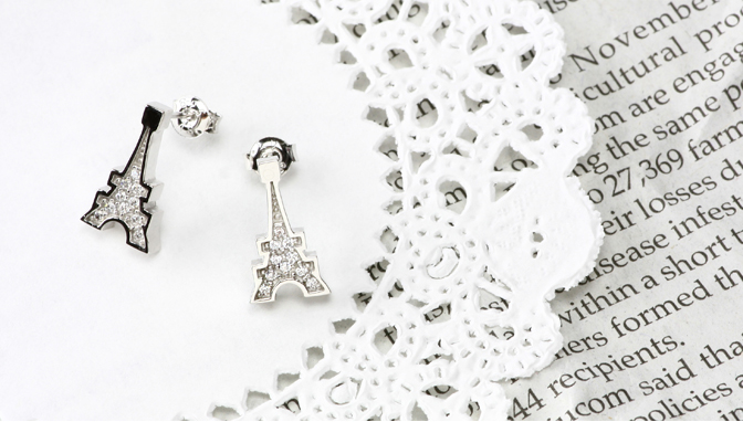 cloud-jewelry Eiffel pierce エッフェル塔ピアス_02