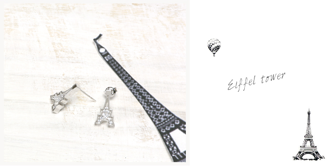 cloud-jewelry Eiffel pierce エッフェル塔ピアス_03