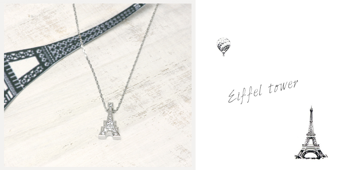 cloud-jewelry Eiffel pendant エッフェル塔ペンダント_03