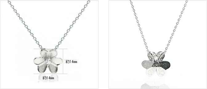 cloud-jewelry White flower pendant ホワイトフラワーペンダント_05