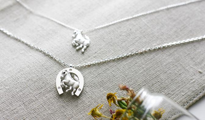 cloud-jewelry Rve horse pendant レーヴホースペンダント(小)_04