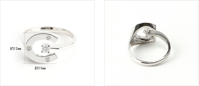 cloud-jewelry Horse shoes ring 馬蹄リング_07