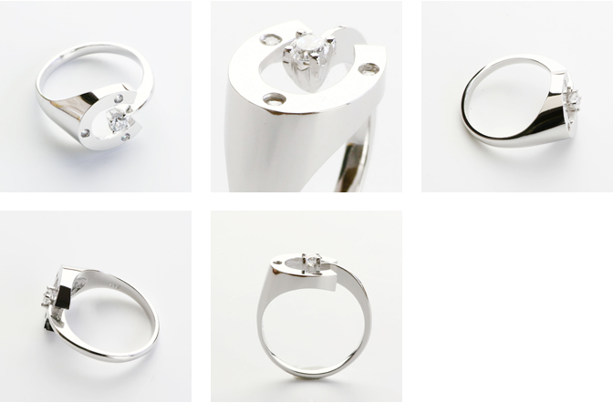 cloud-jewelry Horse shoes ring 馬蹄リング_03