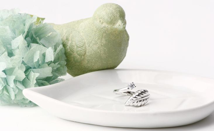 cloud-jewelry Leaf ring リーフリング_01