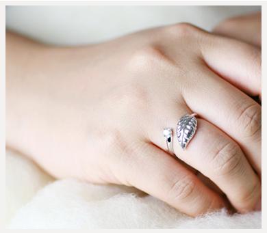 cloud-jewelry Leaf ring リーフリング_03