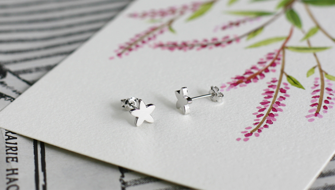 cloud-jewelry Petit star pierce プチ星ピアス_02