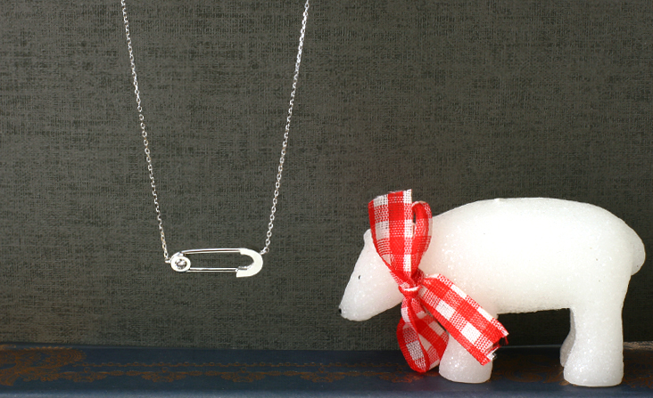 cloud-jewelry Safety pin pendant 安全ピンペンダント_01