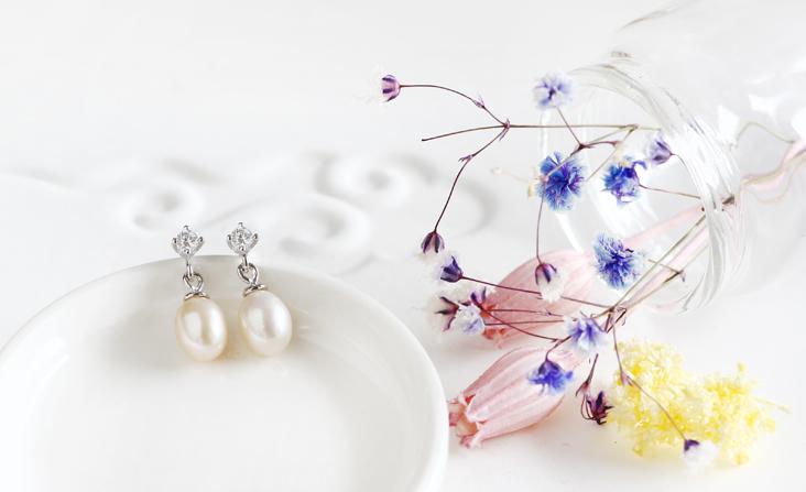 cloud-jewelry Pearl pierced パールピアス_01