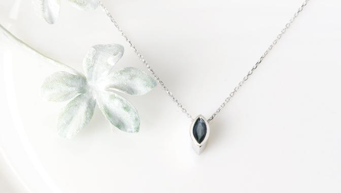 cloud-jewelry Blue spphire pendant ブルーサファイアペンダント_02