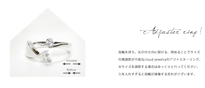 cloud-jewelry Round pair ring ラウンドペアリング_05